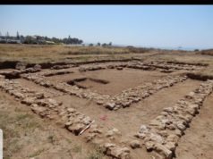 Construction of a new hotel on an ancient coastal site in Cyprus