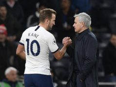 Mourinho defends Kane against diving claims
