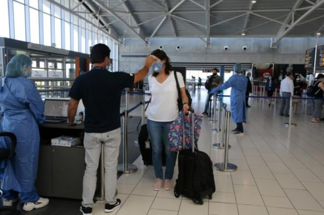 Travels of Cyprus' residents down by 86.2% in October