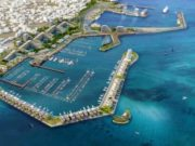 Larnaca port and marina is a mammoth project