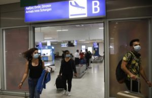 Travelling between Cyprus and Greece is down by up to 80%,