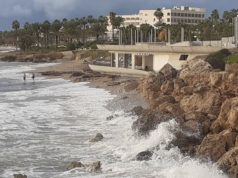 The beach will be lost: Warnings over new restaurant being built on popular Paphos beach