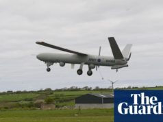 British military Watchkeeper drone crashes during Cyprus training flight