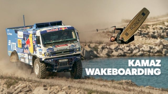 Power meets flight: wakeboarder takes his wildest ride