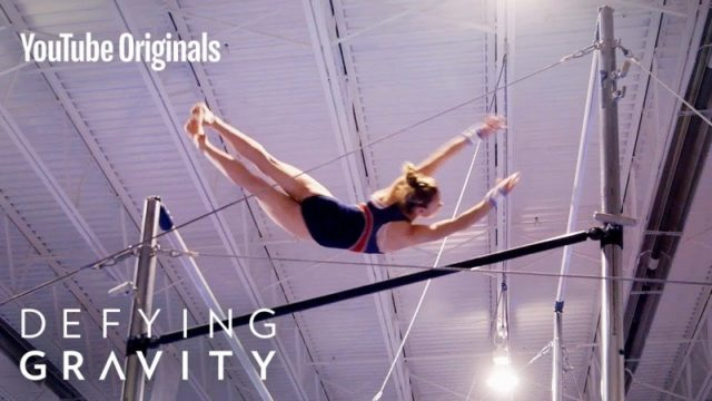 Women's uneven bars: the flights and struggle of a lifetime