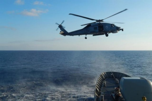 Searches for 70 year old woman missing at sea suspended due to bad weather