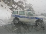 Police block roads to prevent people from going to Troodos