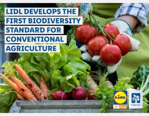 Lidl developing first biodiversity standard for agriculture