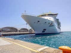 Luxury cruise liner in Limassol to prepare for summer routes