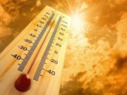 Yellow warning for weather, red alert for fires as temperatures rise