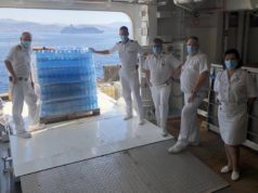 Princess Cruises Delivers Humanitarian Aid to Wildfire-Stricken Cyprus