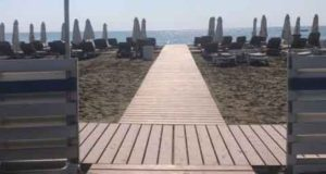Improved disabled access at Lady's Mile beach