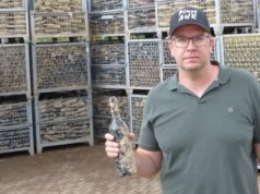 """German winemakers sell """"mud wine"""" to provide aid for flood damages"""