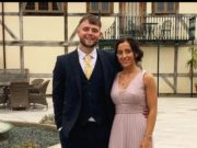 English tourist falls from a hotel balcony while in Cyprus for his friend's wedding.