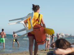 Lifeguards warn of beach's dangers after weekend rescue
