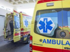 Elderly tourist pulled from sea unconscious
