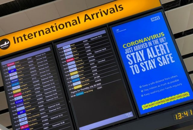 Passengers down 71 per cent at Heathrow, asks for changes to travel rules