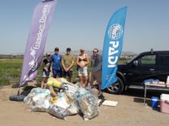 Beach clean-up in Paphos