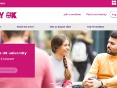 Online event on studying in the UK