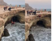 Warning over diving off Cape Greco cliffs after four had to be rescued